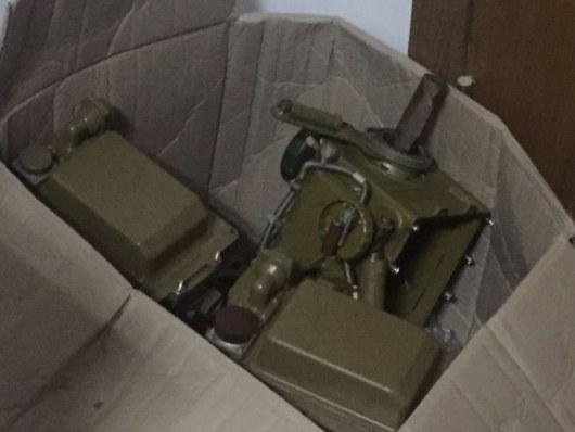 Таможенники обнаружили в«Жулянах» комплектующие кПТРК иавиационной технике,— Госпогранслужба